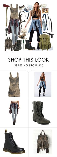 """the twins // lucy & faith"" by xkitten-pokerx ❤ liked on Polyvore featuring Forever 21, Missguided, Refuge, CO, Dr. Martens, Free People, Guide London and Zippo"