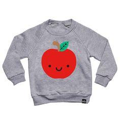 Kawaii Apple Sweatshirt