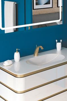 Bathroom Homesweethome Interiordesign Gold Ideedeco Robinet Salledebain Brillance Prcieux