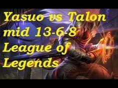 Platinum - Yasuo vs Talon mid 13-6-8
