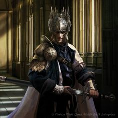 "Magali Villeneuve Portfolio: The Lord of The Rings ""Heirs of Numenor"" : Beregon..."