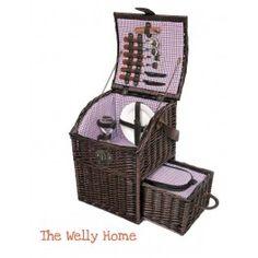 Cesta de picnic para dos personas de The Welly Home