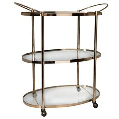 Ritz 3 Tier Drinks Trolley | Freedom Furniture and Homewares