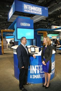 Intel Inside Exhibit at HP Discover 2015