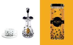 Wicked cool honey jar from www.heatheringram.com
