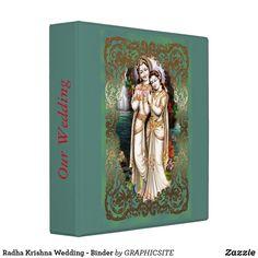 Radha Krishna Wedding - Binder