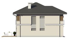 Projekt domu Tytan - 134.26 m2 - koszt budowy 135 tys. zł Gazebo, Construction, Outdoor Structures, House, Building, Pavilion, Arbors, Cabana