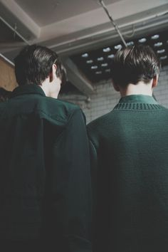 Backstage at Craig Green AW15 Photography Philip Trengove