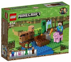 NEW LEGO Minecraft 21138 The Melon Farm Contains affiliate links. - Explore the best and the special ideas about Lego Minecraft Lego Minecraft, Cool Minecraft Houses, Minecraft Pixel Art, Minecraft Creations, Minecraft Crafts, Minecraft Stuff, Minecraft Skins, Lego Stuff, Minecraft Buildings