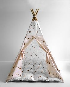 Kids Tents, Teepee Kids, Teepees, Toddler Teepee, Childrens Teepee, Childrens Holidays, Playground Design, Indoor Playground, Wooden Poles
