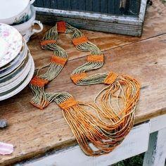 Indian Blanket Necklace