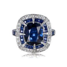 11880-Sapphire-Ring-TV #jewelryrings