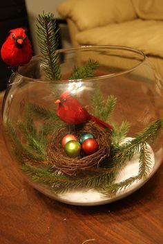 Christmas Bird Craft... Soooo Cute !