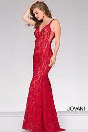f7aca6f8 jovani 48994 Fitted Prom Dresses, Prom Dresses Jovani, V Neck Prom Dresses,  Mermaid
