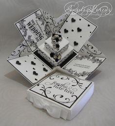 Wedding Exploding box B-W