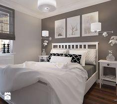 Spare room...ANGIELSKA SYPIALNIA - zdjęcie od Klaudia Tworo Projektowanie Wnętrz