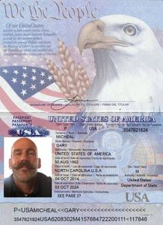 Your US passport book number can be found on the top right of the second page in your passport. Image source: Popular Science Note that a US passport book number is the same as a passport number, it's just a slightly more formal phrasing. Passport Number, New Passport, Passport Card, Passport Online, Apply For Passport, Driver License Online, Driver's License, United States Passport, Viajes