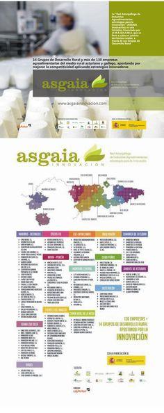 """Diseño de material promocional para el proyecto """"Asgaia Innovación"""" (pop-up y roll-up) - 2013"""