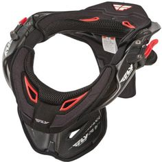 Fly Racing Pro Lite Carbon Adult Neck Brace MX/Off-Road/Dirt Bike Motorcycle Body Armor - Black / Large/X-Large ** Check out this great product.