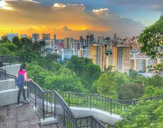 Travel Bugs: Travel Photos Series#24-Sunset at Mount Faber
