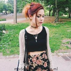 Just grunge fashion ♡ Ask me for advice! Fill my inbox ♥ Ask me some questions! Le Happy, Grunge Outfits, Casual Outfits, Cute Outfits, Dark Fashion, Grunge Fashion, Divas, Cool Hairstyles For Girls, Luanna Perez