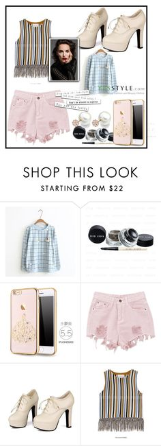 """Yesstyle plaid contest"" by kenn01 ❤ liked on Polyvore featuring Sidewalk and PPGIRL"