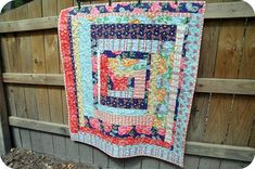 Many of your favorite styles of applique quilt designs and full quilt patterns have roots in American history. This is what inspired American Quilting Traditions: 11 Free Quilt Designs, Quilt Blocks, and More Americana. Lap Quilt Patterns, Log Cabin Quilt Pattern, Jelly Roll Quilt Patterns, Log Cabin Quilts, Lap Quilts, Quilt Blocks, Scrappy Quilts, Log Cabins, Sampler Quilts