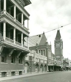Perth in Western Australia (year unknown).