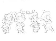 Ideas drawing girl cartoon animation deviantart for 2019 Character Design Cartoon, Character Sketches, Kid Character, Character Design References, Character Drawing, Character Design Inspiration, Character Sheet, Baby Girl Drawing, Cartoon Girl Drawing