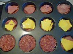 Köttfärsbiff i muffinsform Griddle Pan, Breakfast, Food, Morning Coffee, Grill Pan, Meals, Yemek, Eten