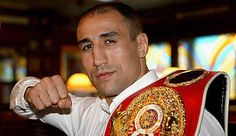 Arthur Abraham (born Avetik Abrahamyan) on 20 February 1980) is an Armenian-German professional boxer residing in Berlin. Abraham is the former IBF Middleweight Champion from 2005 to 2009, making ten successful defences of his title, the fourth most in middleweight history. He is the current WBO Super Middleweight Champion.