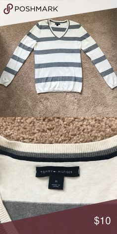 Tommy Hilfiger V-Neck Sweater Size M. Never been worn. Just sat in my closet. Tommy Hilfiger Sweaters V-Necks