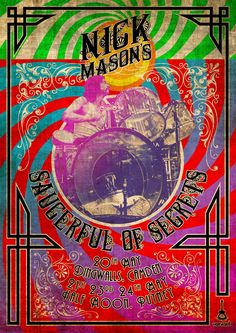 Nick Mason to perform early Pink Floyd with new band Saucerful Of Secrets - Planet Rock