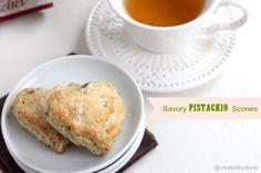Savory Pistachio Scones @createdbydiane