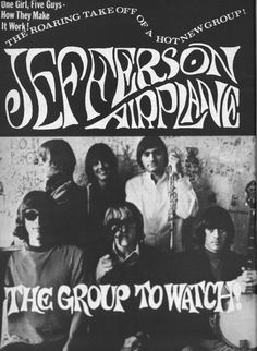 Psychedelic sixties/ Jefferson Airplane, Freak Out, U.S.A (1967)