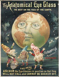 Eye Glasses Advertisement 1890