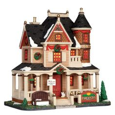 Lemax Collectibles, Lemax Caddington Village Lighted Building Fairview Inn #45701 - American Sale