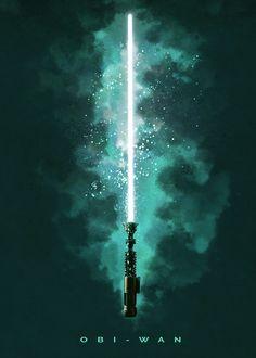 "Official Star Wars Character Lightsabers Obi-Wan Kenobi #Displate artwork by artist ""Star Wars"". Part of a set featuring lightsabers from the popular #StarWars film franchise. £35 / $50 (Medium), £71 / $100 (Large), £118 / $166 (XL) #ThePhantomMenace #AttackOfTheClones #RevengeOfTheSith #ANewHope #TheEmpireStrikesBack #ReturnOfTheJedi #TheForceAwakens #TheLastJedi #RogueOne #SoloAStarWarsStory #Lightsaber #ObiWan #ObiWanKenobi"