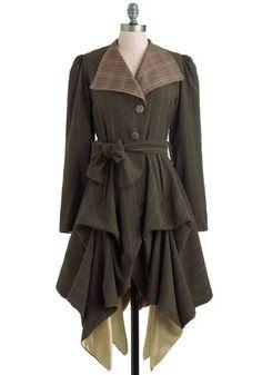 In the Name of Adventure Coat | Mod Retro Vintage Coats | ModCloth.com
