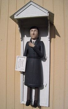 Nedervetil/Alaveteli Wooden Sculptures, Wooden Statues, Grave Monuments, Graveyards, Lutheran, Historian, Finland, Folk Art, Countries