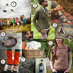 camping knitting patterns