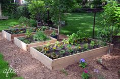 DIY Modern Raised Garden Beds