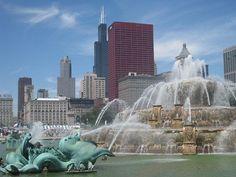 Chicago Buckingham Fountain