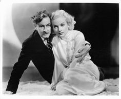 "Carole Lombard and John Barrymore in ""Twentieth Century"" (1934)"