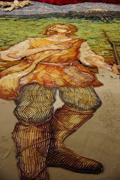 El alfombrismo es una expresión de Arte Efímero Universal que se desarrolla en diversos países por todo el mundo integrando diferentes estilos, formas y técnicas adecuadas a cada una de sus manifestaciones culturales. Con la característica común de transformar el espacio público en una obra de arte colectiva.