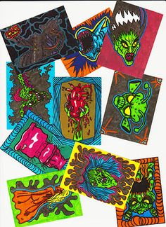ACEO Ultimate Halloween Horror Collection 2