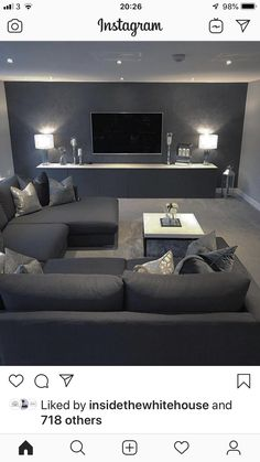 home theater rooms luxury This is it.
