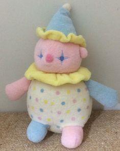 peruse the friend bazaar: Photo - Plushies Cute Clown, Creepy Cute, Cute Stuffed Animals, Dinosaur Stuffed Animal, Labradoodle, Pierrot Clown, Posca Art, Clowning Around, Clowns