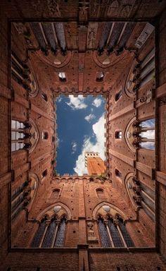 The Palazzo Pubblico, Siena, Tuscany by Philipp Klinger Photography