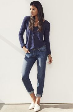 Caslon® Top & KUT from the Kloth Jeans